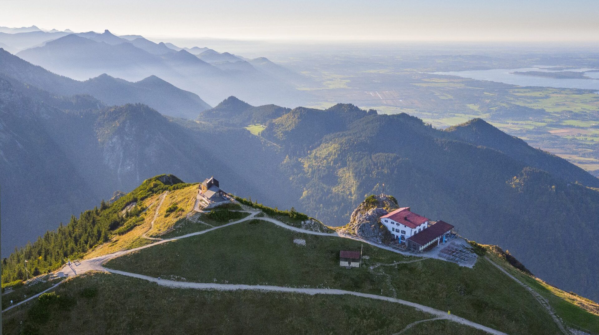 Hochfellngipfel, Hochfellnpanorama, Chiemgauer Alpen