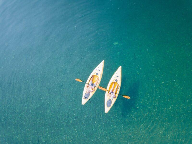 Wassersport am Chiemsee